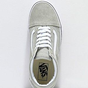 1939fe0dd3 Vans Shoes - Vans Old Skool Desert Sage True White Skate Shoes